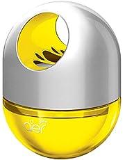 Godrej - 8901023018381 aer twist, Car Air Freshener - Sunny Citrus Blast (45g), Yellow