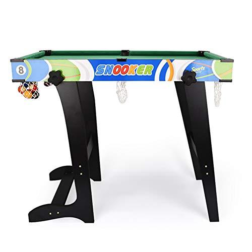 TriGold Klappbar Billardtisch Für Kinder,Einfache Montage Tischbillard Mit Bällen Und Cue,Tragbar Billard Tisch Zu Home Entertainment A