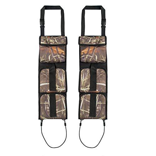 Eslinga de Arma de Caza, Organizador de Eslinga de Arma Trasera para Asiento de Coche Lumsing para Caza con Rifle, Camuflaje de Caña