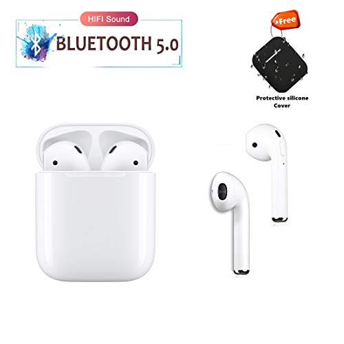 Bluetooth Headphones Wireless In-Ear Earbuds HD Noise...
