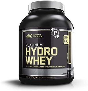comprar comparacion Optimum Nutrition ON Platinum Hydro Whey, Proteínas en Polvo, para Masa Muscular y Musculacion, fuente de BCAA, bajo en Ca...