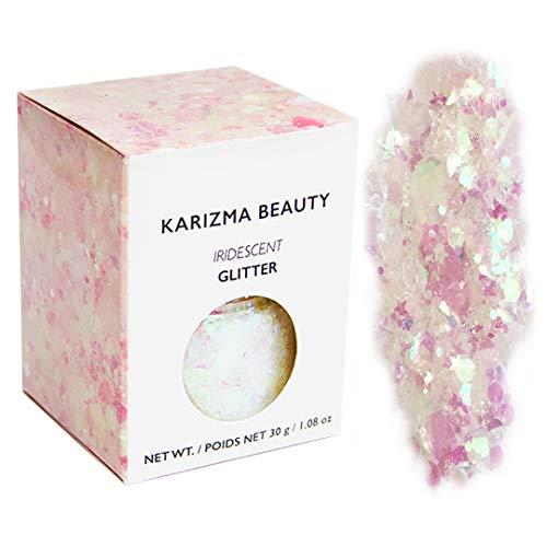 Klobiger Glitzer in Irisierend // Karizma Beauty Festival Glitter Gesicht glitzern Karosserie Haar...