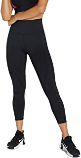 Rockwear Activewear Women's Ag Perforated Logo Tight Black 6 from Size 4-18 for Bottoms Leggings + Yoga Pants+ Yoga Tights