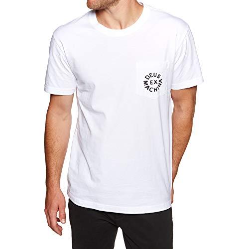 Deus Ex Machina - Camiseta de manga corta con logo