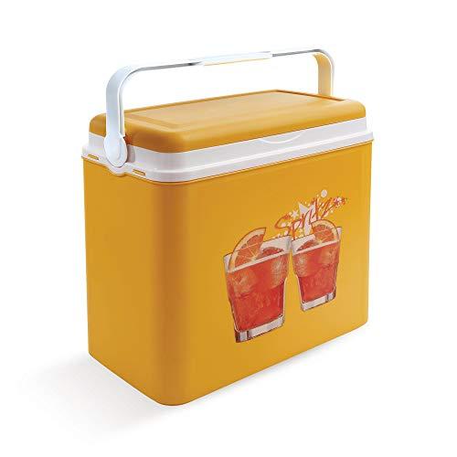 Kühlbox   Passive Kühlbox   Kühltaschen aus Kunststoff mit polystyrol thermische Isolierung (24 L, Orange)