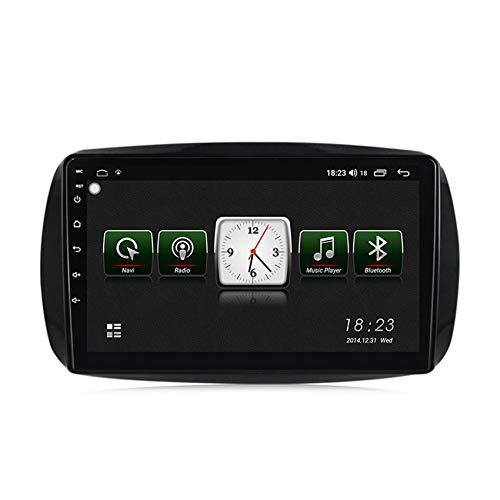 Radio 2 Din Autoradio Bluetooth para Benz Smart 2014-2020 Pantalla Táctil HD Soporte Estéreo Llamadas Manos Libres Bluetooth FM RDS Enlace espejo carplay(Incluida Cámara de Trasera),7731,1+16G
