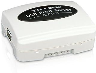TP-LINK TL-PS110U Single USB2.0 port fast ethernet Print Server supports E-mail Alert Internet Printing Protocol (IPP) SMB