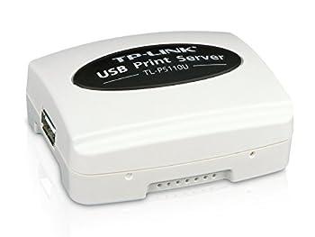 TP-LINK TL-PS110U Single USB2.0 port fast ethernet Print Server supports E-mail Alert Internet Printing Protocol  IPP  SMB