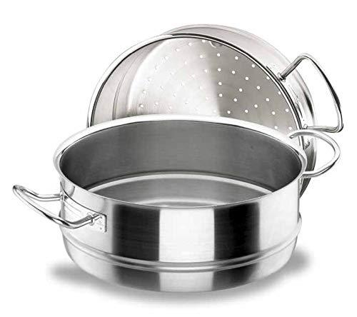 Lacor 50428 Panier Vapeur Chef Inox Diamètre 28 cm