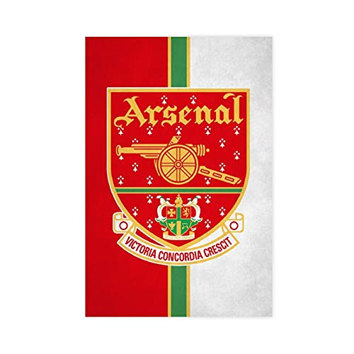 Crests,Arsenal Crest 2001 VCC Poster Canvas Poster Wall Art Decor Print Picture Paintings for Living Room Bedroom Decoration DONGDA Poster Unframe:16×24inch(40×60cm)