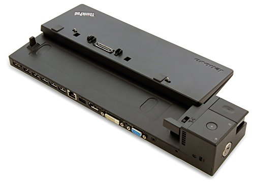 Lenovo 04W3948USB 2.0schwarz Dockingstation Docking–Stationen (Dockingstation, USB 2.0, 10,100,1000Mbit/s, Lenovo, T440, T440s, L540, T440p, L450, L540, L440, X240, X250, T450S, schwarz)