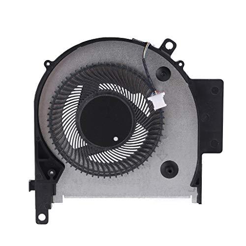 Ixkbiced Ventilador de refrigeración de CPU para computadora portátil para HP WASD OMEN Envy X360 15-CN 15-CP TPN-W134 W135
