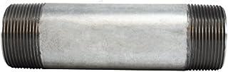 2 Diameter 24 Length 2 OD Midland Metal 2 OD Steel Midland 56-291 Galvanized Steel Nipple 24 Length SCH 40 Welded 2 Diameter Pack of 3
