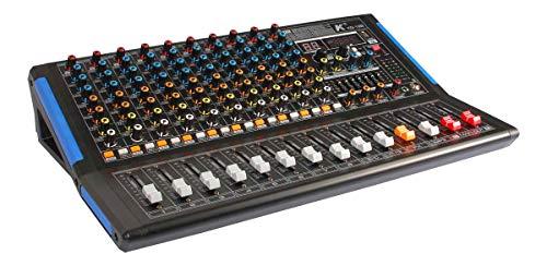 K KG-12B Mezclador 12 canales tarjeta sonido integrada