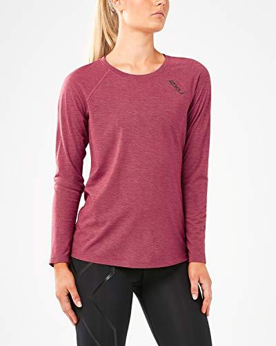 2XU Heat Wr5204a T-Shirt de Course à Manches Longues pour Femme S Rose