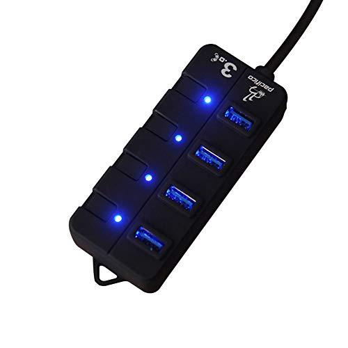 zNLIgHT Cable & HUB & Adapter | 5V 2A 4/7 Puertos USB...