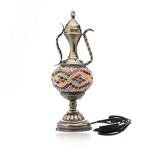 Bureaulamp Exotische Retro Geglazuurde Stijl Lamp Decoratie Tafellamp Pot Type Lamp