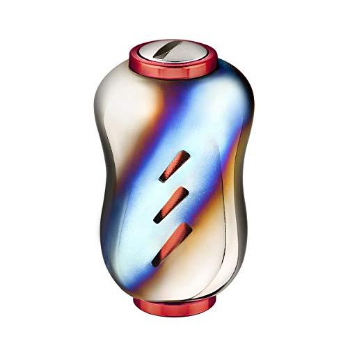 GOMEXUS Pomo Carrete Aleación de Titanio para Shimano Vanford Stradic CI4+ FB...