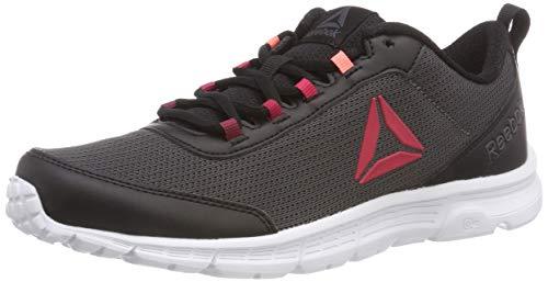 Reebok Speedlux 3.0, Zapatillas de Running Mujer, Negro (Black/Ash Gry/Wht Black/Ash Gry/Wht), 44 EU