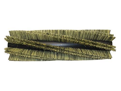 partmax® Bürstenwalze für Tennant 8400/8410, Poly 0,4 mm und 0,8 mm, 8 x 2 Reihen, Walze, Walzenbürste, Kehrwalze