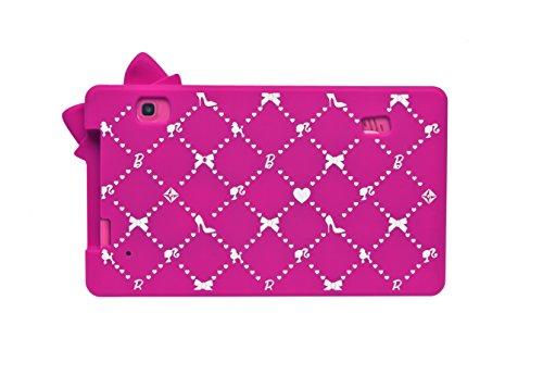 Barbie Funda Protectora De Silicona Para Tablets De 7' Lexibook Mfa51Bb , color/modelo surtido