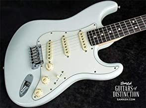 Fender Custom Shop Jeff Beck Signature Stratocaster Electric Guitar Olympic White (SN:XN11168)