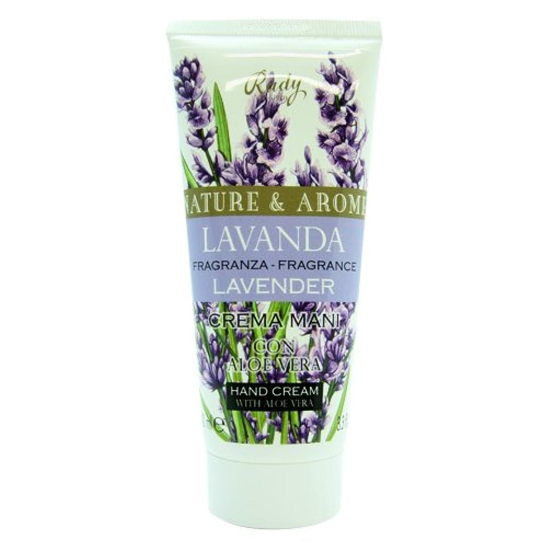 ボイコット幹バンドRUDY Nature&Arome SERIES ルディ ナチュール&アロマ Hand Cream ハンドクリーム  Lavender ラベンダー