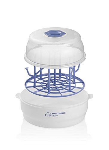 Esterilizador a Vapor Para Micro-Ondas, Multikids Baby, Branco
