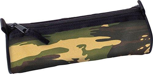 eberhardt Faber 577534 – Trousse à crayons rôle Camouflage, vide, vert/gris