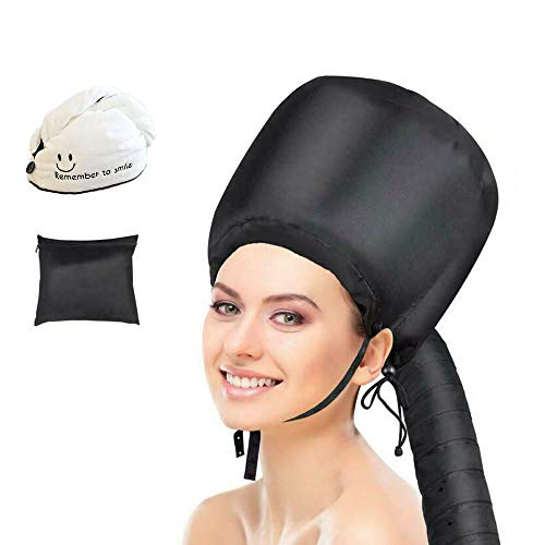 Hair Dryer Bonnet, Adjustable Bonnet Hood Hair Dryer Attachment at Home,Used for Hair Styling, Deep Conditioning and Hair Drying
