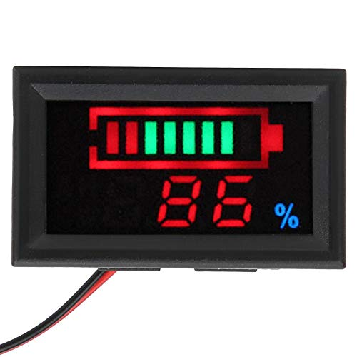 Great Features Of YB27VE Battery Capacity Indicator, Digital LED Battery Capacity Monitor Voltage an...