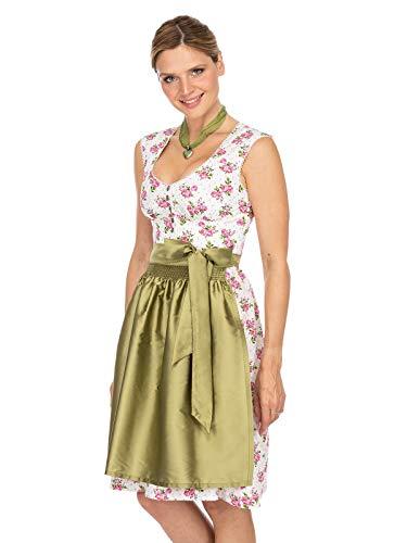 Stockerpoint Damen Violetta Dirndl, Mehrfarbig (Pink-Grün Pink-Grün), (Herstellergröße: 42)