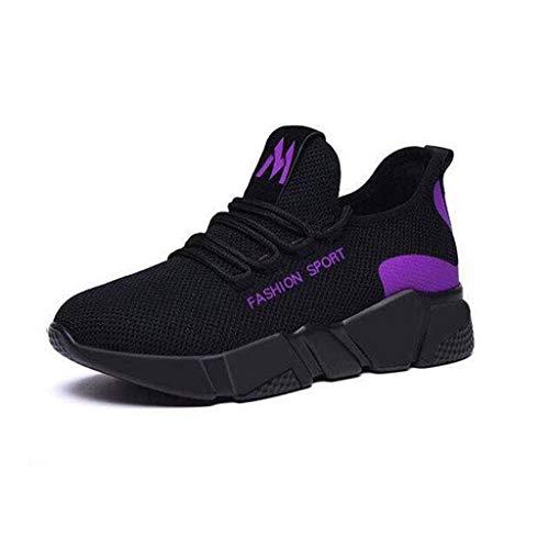 YWLINK Mujer Zapatos De Malla Al Aire Libre De Casual Antideslizante Deporte Caminar Zapatillas Mocasines Zapatos Zapatillas De Correr Suaves Los Deportes Ciclismo Ligero Y Transpirable