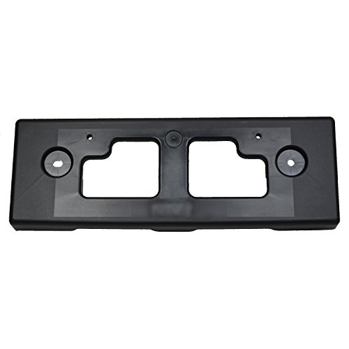 2013-2016 Nissan Pathfinder Front License Plate Bracket; Without Mounting Hardware; Made Of Pp Plastic Partslink NI1068122C