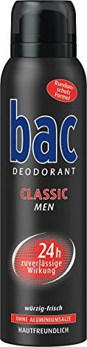 Bac Classic Men Deospray, 6er Pack (6 x 150 ml)