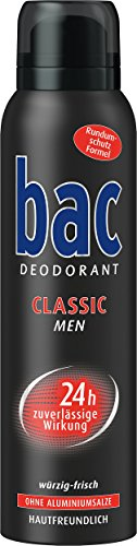 Bac Classic Men Deospray, 6er Pack (6 x 150 ml)
