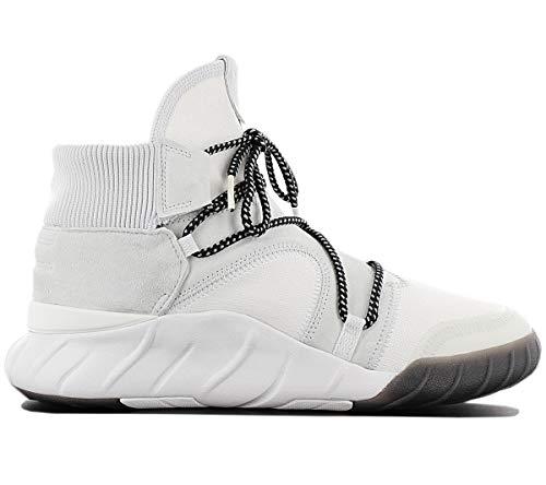adidas Herren Tubular X 2.0 Fitnessschuhe, Weißer Balcri schwarz Ftwbla, 48 2/3 EU