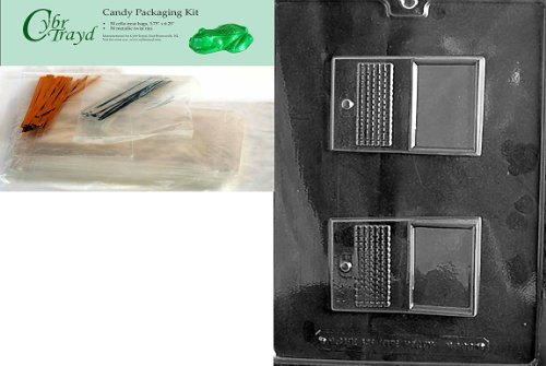 Best Price Cybrtrayd Laptop Computer Miscellaneous Chocolate Candy Mold with Packaging Bundle of 50 ...