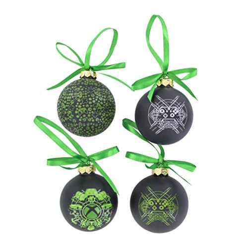 Paladone - Adornos de Navidad para Xbox (4 Unidades) diseño de Xbox (PP6463XB)