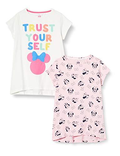ZIPPY Pack 2 Camisetas Minnie SS20, Cloud Dancer 11/4201 TC,