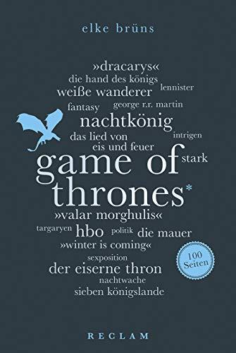 Game of Thrones. 100 Seiten (Reclam 100 Seiten)