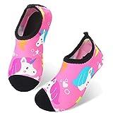 JIASUQI Quick Dry Beach Pool Athletic Aqua Water Shoes for Kids Girls...