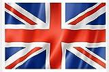 KiipFlag Bandera Gran Bretaña Gran Bretaña Reino Unido Bandera Union Jack UK Flag, Color Vivo y Resistente a la decoloración UV, cabecera de Lona y Doble Costura, poliéster con Ojales de latón