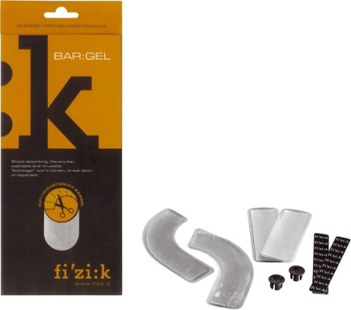 fizik Lenkerband-Gelpads Set, transparent