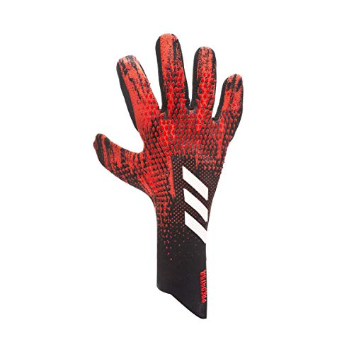 adidas Predator Pro PC, Guante de Portero, Black-Active Red