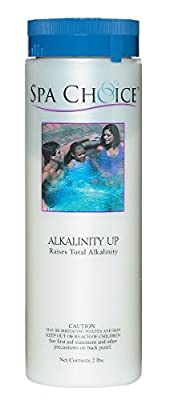 Spa Choice 472-3-4021-02 Alkalinity up Hot Tub Chemical for Spas, 2-Pound, 2-Pack