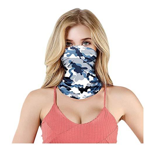 Eaylis Gesichtsmaske für Staub/Outdoor/Festivals/Sport, Bandana für Rave, Gesichtsschutz Staub Wind UV Sonnenhals Gamasche Rohr Kopfbedeckung Schal