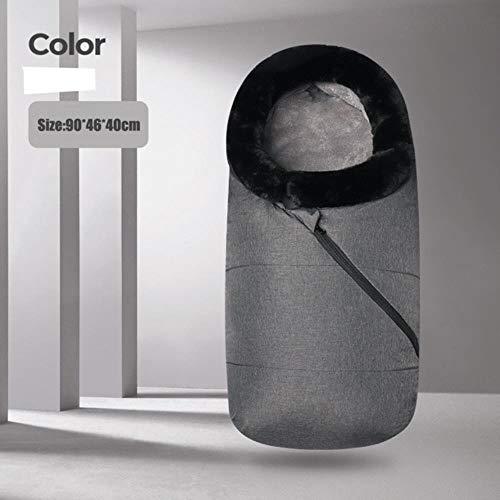 Saco de dormir para bebés 0-12M Saco de silla de paseo infantil de invierno grueso Sobre de silla de ruedas cálido Sleepsacks Ropa de saco de dormir de marca original, como en la imagen