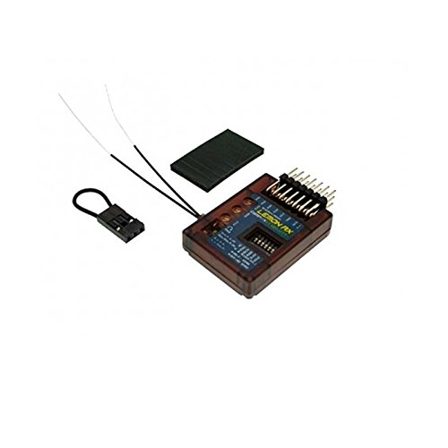 Lemon-RX DSMP/X Compatible 7-Channel Receiver with Stabilizer Plus & Diversity Antenna (End-Pin) LM0044