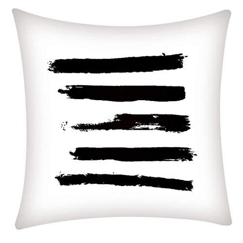 Arystk Pillow Case Polyester Fiber Cushion Sofa Car Cushion Cover Home Decoration